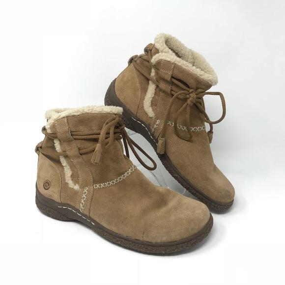 161b547d earth spirit Shoes - Earth Spirit Paula 8.5 Tan Suede Ankle Boots